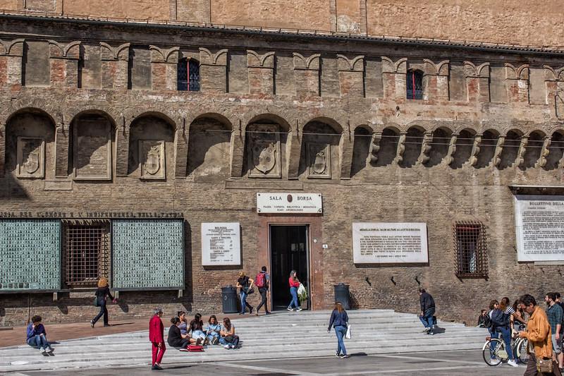Bologna - Sala Borsa (now main library)