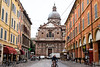 Modena - Street Scene with Church
