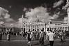 St  Peter's Square in Monochrome