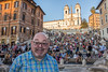 John at the Spanish Steps