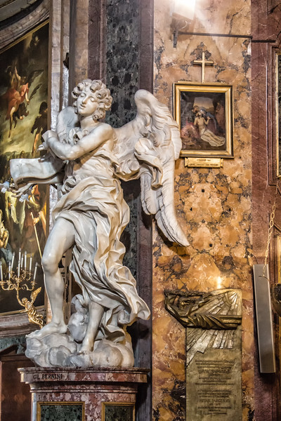Bernini's Angel with the Scroll (original)