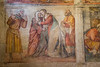 Museo di Santa Giulia - Fresco with Visitation