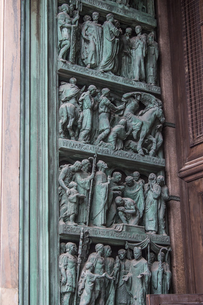 Detail of Duomo Doors 3