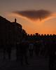 Piazza dei Miracoli Silhouette