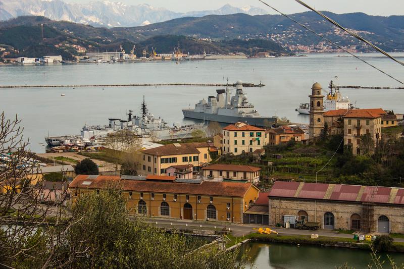 Naval Base at La Spezia