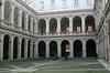Sant' Ivo all Sapienza - Courtyard