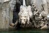 Fontana dei Quattro Fiume - Thirsty Lion