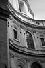 Sant' Ivo alla Sapienza - detail in black and white
