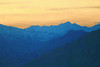 Alps - Pastel Painting Effect