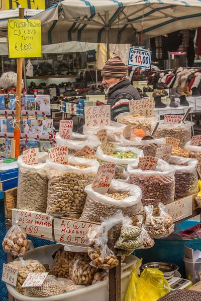 Catania - Nut Vendor