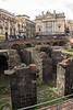 Catania - Ampitheatre and Church