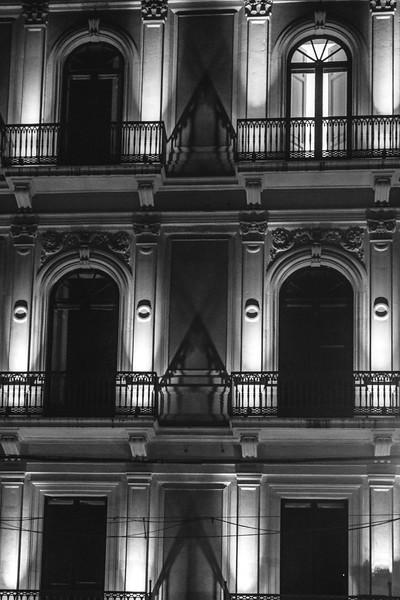 Catania - IllumInated Facade by Night