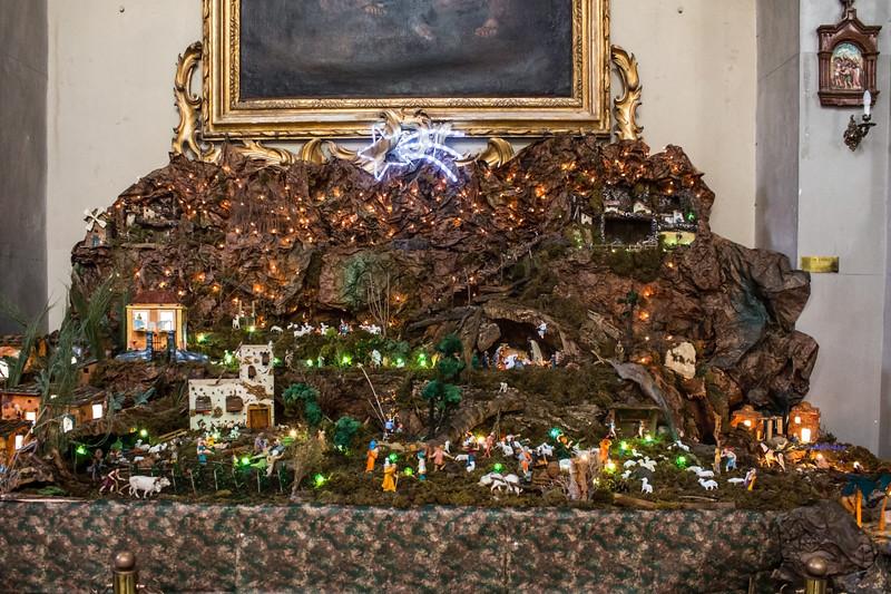 Catania - Basilica della Collegiata - Nativity Scene