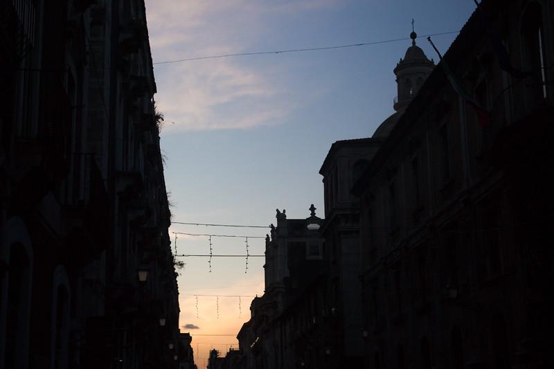 Catania - Twilight Street