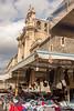 Catania - Church and Vendors