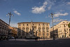 Catania - Piazza in Late Afternoon