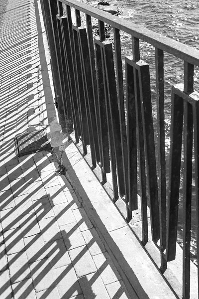 Siracusa - Fence Shadows
