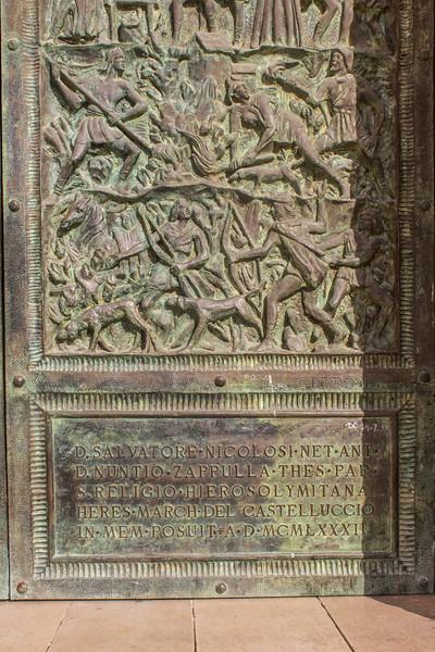 Noto - Duomo Door