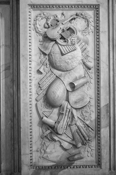 Royal Palace - Relief with Musical Instruments