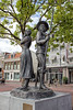 Haarlem - Statues of Figures from the Dutch Revolution