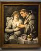 Cornelis Van Haarlem - Monk Squeezing a Nun's Tit
