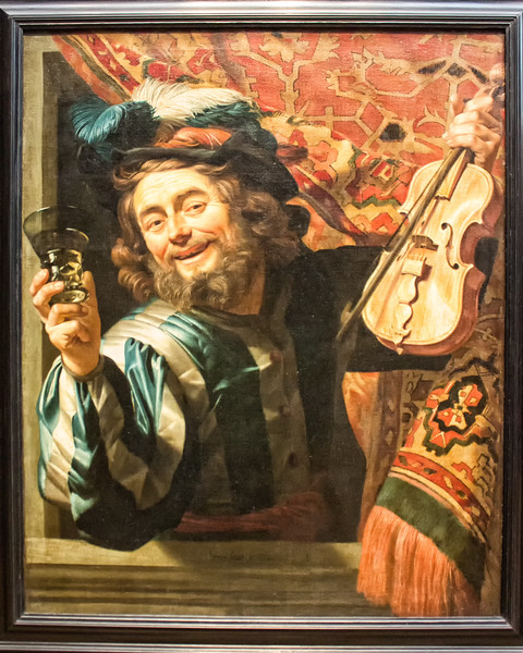 van Honthorst - The Merry Fiddler