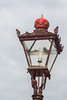 Street Lamp with Red Crown
