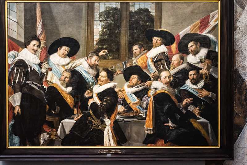 Frans Hals - Banquet of the Officers of the Cavillermen