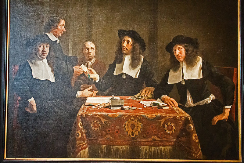 Frans Hals - Governors of the Leper Hospital