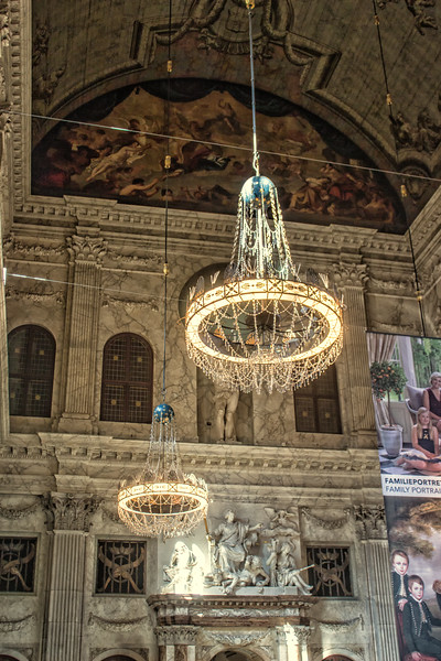 Royal Palace - Hall with Chandeliers