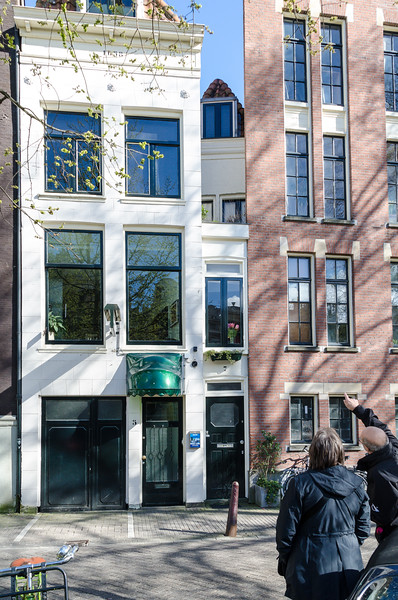 Narowest House in Amsterdam
