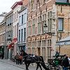 Horse Drawn Sight-Seeing Carriage, Brugges