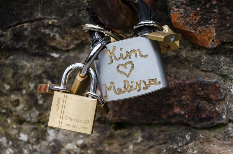Brugge Love Locks