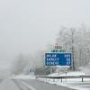 Snow, Late April, France