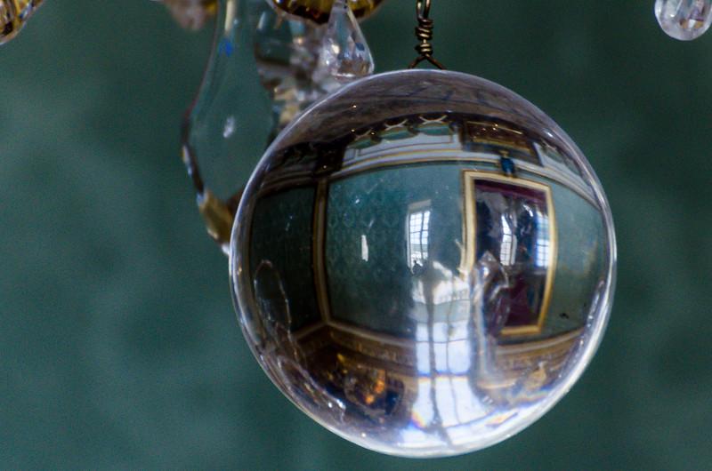 Crystal in Chandelier, Versailles, FR