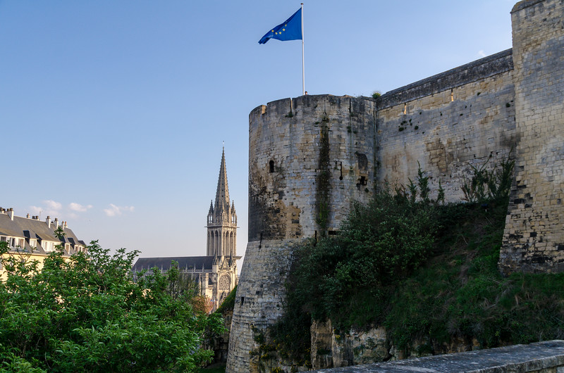Church of Saint-Pierre Beyond Caen Castle