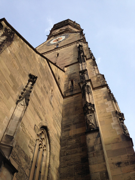 Steeple of the Collegiate Church of Stuttgart