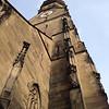 Steeple of the Collegiate Church of Stuttgart