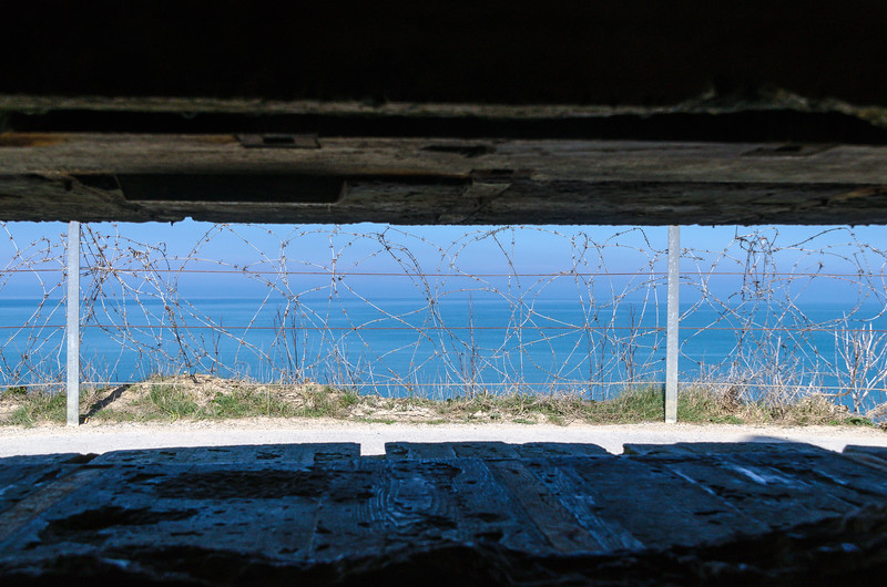 Point du Hoc Gun Slit