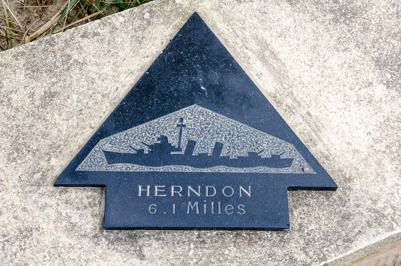 Marker Showing Distance and Direction