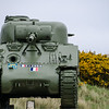 M4 Sherman Near Utah Beach, Normandy