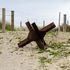 Tank Trap at Utah Beach, Normandy