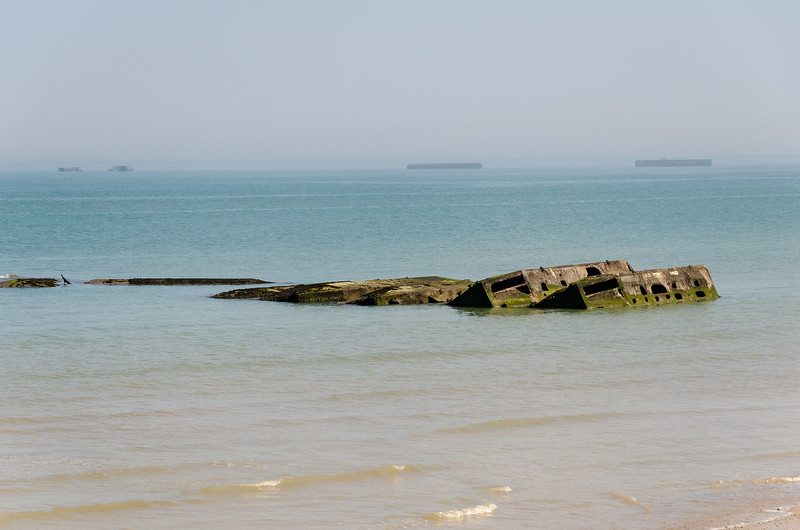 Ruins of Mulberry Harbor
