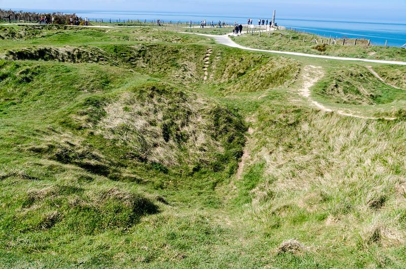 Point du Hoc Craters