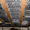 Charred Bunked Ceiling
