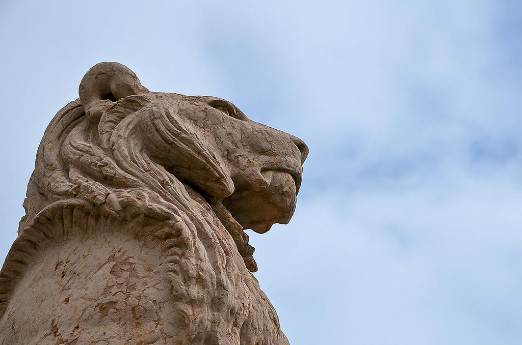 Lion Statue in Geneva