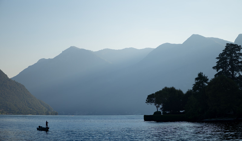 Fisherman, Ossuccio