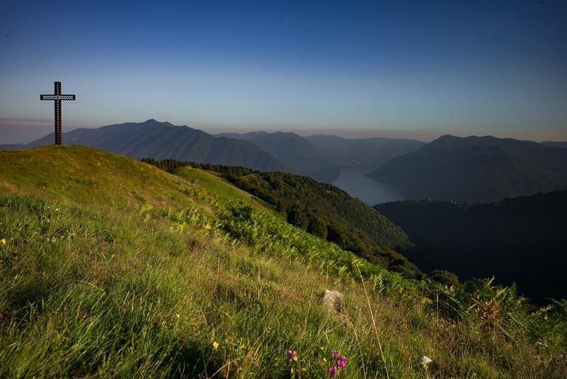 Alpi de Collono evening