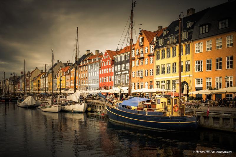 Nyhavn Harbor, Copenhagen