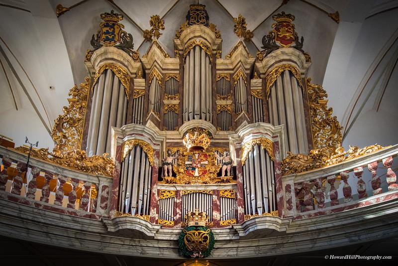Pipe Organ, Trinitatis Church, Copenhagen